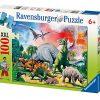 Ravensburger 10957 Dinosauri Puzzle 100 Pezzi 0
