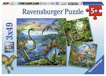 Ravensburger Italy Dinosauri A Puzzle 3x49 Pezzi 9317 0