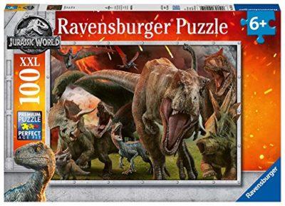 Ravensburger Jurassic World Puzzle 100 Pezzi 0