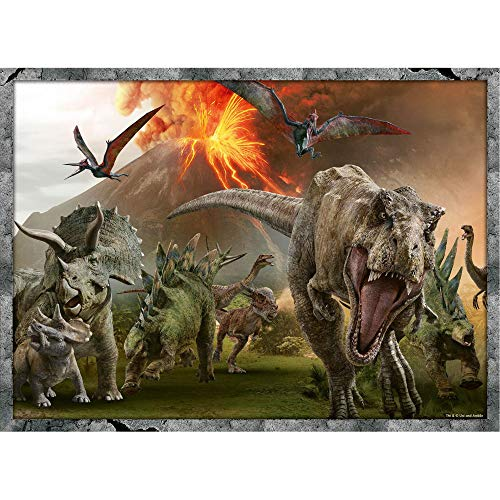 Ravensburger Jurassic World Puzzle 4x100 Pezzi 6976 0 0