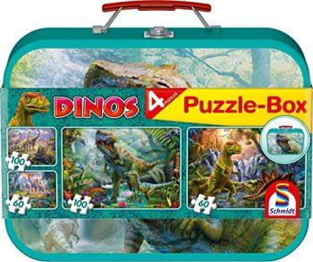 Schmidt Puzzle Dino Box 2 X 60 E 2 X 100 Pezzi 56495 0
