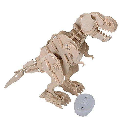 Small Foot 6945 Set Costruzioni Dinosauro Robot T Rex Con Telecomando 0