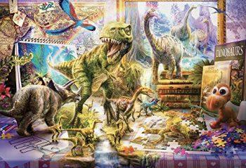 Vermont Christmas Company Dinosauri Puzzle Per I Bambini 100 Pezzi 0
