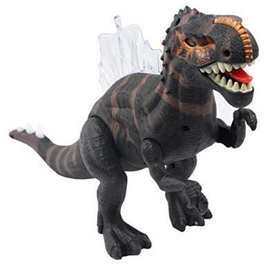Yier Giocattoli Elettronici Grigio Walking Dinosaur Ridgeback 0