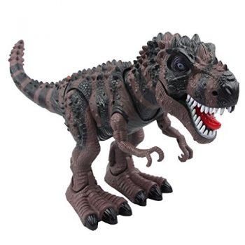 Yier Giocattoli Elettronici Grigio Walking Tyrannosaurus Rex Dinosauro 0