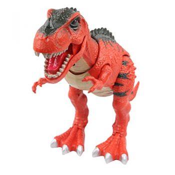 Yier Giocattoli Elettronici Rosso T Rex Dinosaur 0
