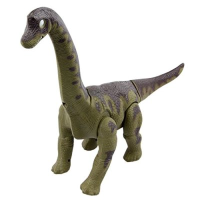 Yier Giocattoli Elettronici Verde A Piedi Brachiosaurus Dinosaur 0