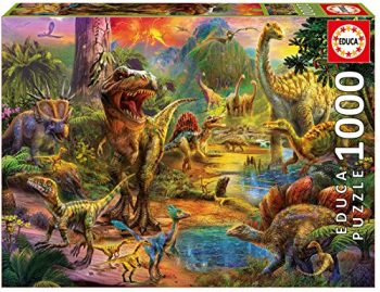 Educa Borras 1000 Land Of Dinosaurs Puzzle Colore Vario 17655 0
