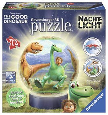 Ravensburger 12167 Puzzle 3d The Good Dinosaur 72 Parti Puzzle 3d Ball Luce Di Notte 0