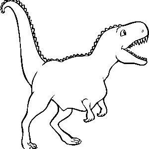 Disegni da colorare dinosauri