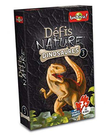 Bioviva 0101014114 Gioco Di Carte Sfide Natura Dinosauri 3 0