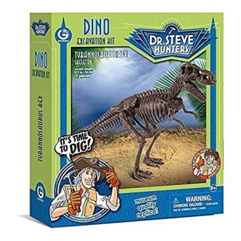 Dr Steve Hunters Cl1663k Dino Excavation Kit Tyrannosaurus Rex Skeleton 0