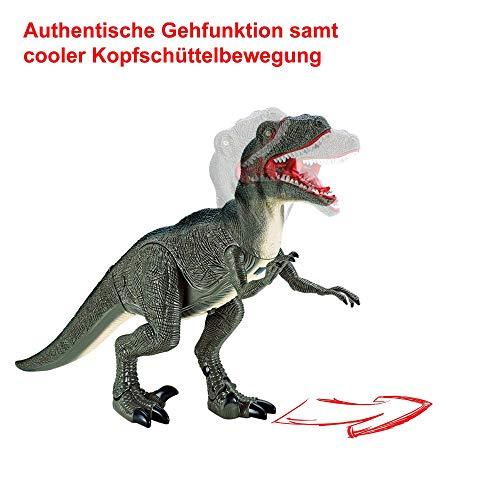 Hsp Himoto Dinosauro Telecomandato T Rex Grande 50 Cm Funzione Deviazione Effetti Sonori E Luminosi Con Telecomando 0 0