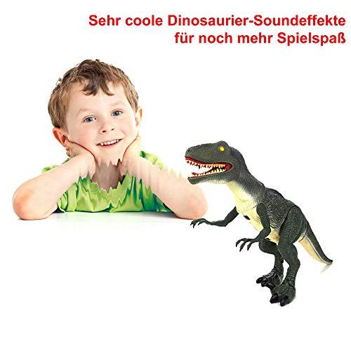 Hsp Himoto Dinosauro Telecomandato T Rex Grande 50 Cm Funzione Deviazione Effetti Sonori E Luminosi Con Telecomando 0 1
