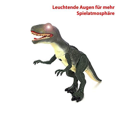 Hsp Himoto Dinosauro Telecomandato T Rex Grande 50 Cm Funzione Deviazione Effetti Sonori E Luminosi Con Telecomando 0 2