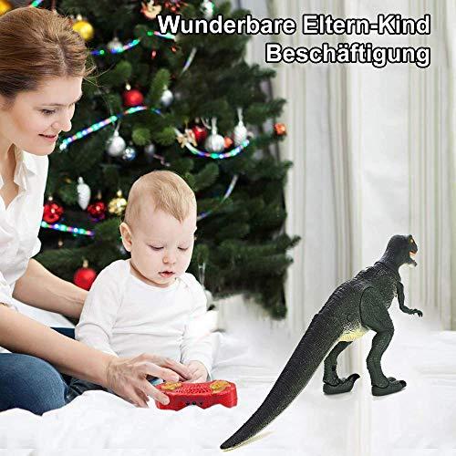 Hsp Himoto Dinosauro Telecomandato T Rex Grande 50 Cm Funzione Deviazione Effetti Sonori E Luminosi Con Telecomando 0 3