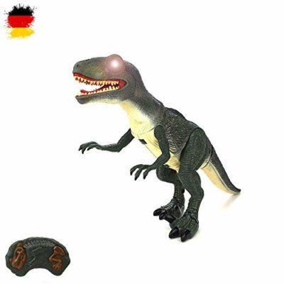 Hsp Himoto Dinosauro Telecomandato T Rex Grande 50 Cm Funzione Deviazione Effetti Sonori E Luminosi Con Telecomando 0