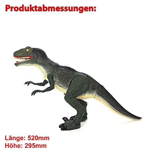 Hsp Himoto Dinosauro Telecomandato T Rex Grande 50 Cm Funzione Deviazione Effetti Sonori E Luminosi Con Telecomando 0 5