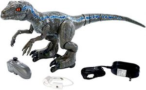 Jurassic World Alpha Training Blue Dinosauro Radiocomandato Con Suoni Gck29 0