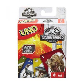 Mattel Games Uno Jurassic World Edition Flk66 0