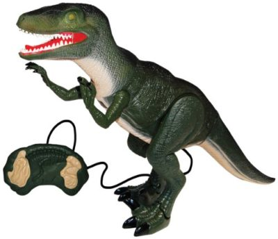 Mighty Megasaur Dinosauro Velociraptor Radiocomandato 0