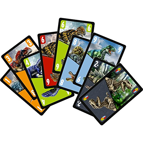Spiegelburg 14794 Card Game Mau Mau Dinosaur T Rex World 0 0