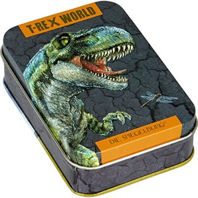 Spiegelburg 14794 Card Game Mau Mau Dinosaur T Rex World 0