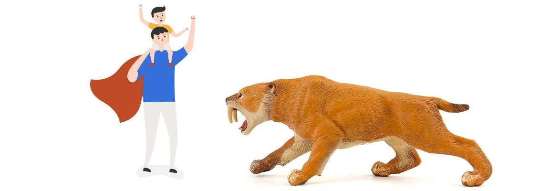Tigre Dai Denti A Sciabola Smilodonte Dimensioni