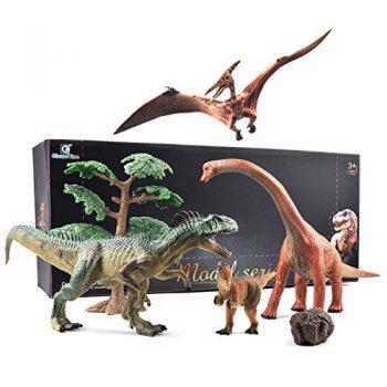 Gizmovine 1620 Set Di Giocattoli Educativi Con Dinosauro Jurassico Realistico Decorazione Per La Casa Per Bambini E Ragazzi 0