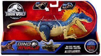 Jurassic World Allosauro Dinosauro Con Attacco Doppio Giocattolo Per Bambini 4 Anni Ggx96 0