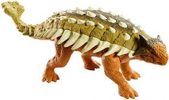 Jurassic World Dinosauri Ruggi Sauri Anchilosauro Giocattolo Per Bambini 3 Anni Ght09 0