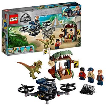 Lego Jurassic World Dilofosauro In Fuga 75934 0