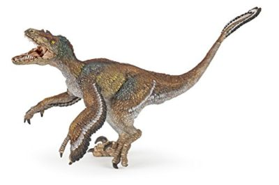 Papo 55055 Articolato Jaw Figura Feathered Velociraptor 0