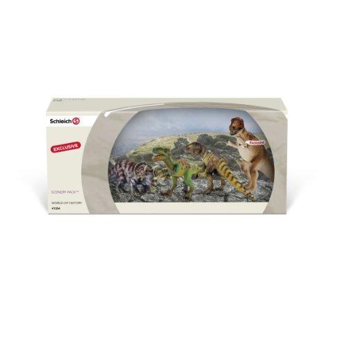 Schleich 41354 Confezione Speciale Con 4 Dinosauri 0