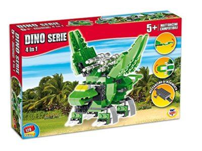 Teorema 64423 Click Clack Mattoncini Compatibili Dino World Multicolore 0