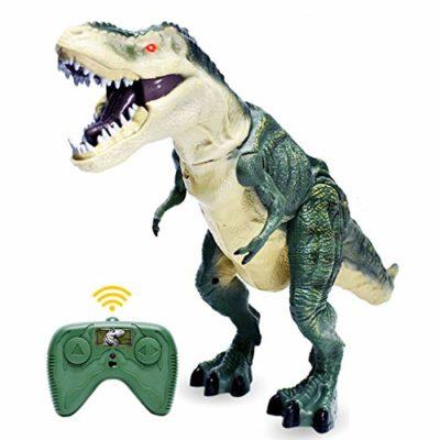 Zje Dinosauro Giocattolo Telecomandato Giocattolo Telecomandato Giocattolo Per Camminare Simulazione Roaring Spruzzare Scuotere La Testa Con Le Ali Regalo Per Ragazzi E Ragazze 0