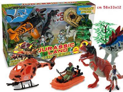 Jurassic Land Playset Dinosauri 0