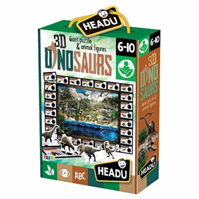 Headu 3d Dinosaurs Giant Puzzle Animal Figures 0