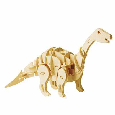 Apatosauro Puzzle 3d Controllo Sonoro Artoy In Legno 3dino 0