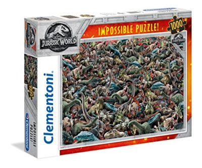 Clementoni 39470 Jurassic World 1000 T Impossible 0