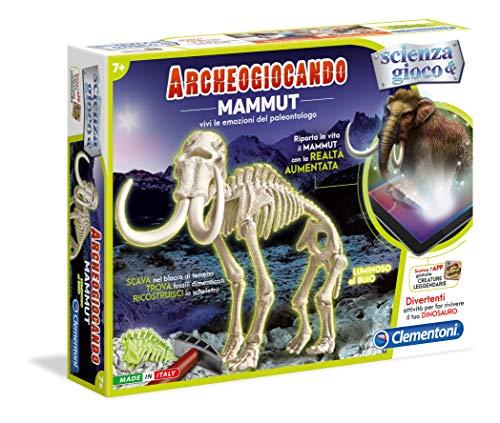 Clementoni Mammut Archeogiocando Luminoso Al Buio Multicolore 13978 0