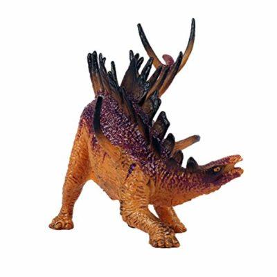 Flormoon Dinosauri Giocattoli Realistico Kentrosaurus Dinosaur Figure Di Dinosauri In Plastica Decorazioni Per Torte Feste Di Compleanno Giocattolo Per La Scuola Sul Retro Per Bambiniviola 0