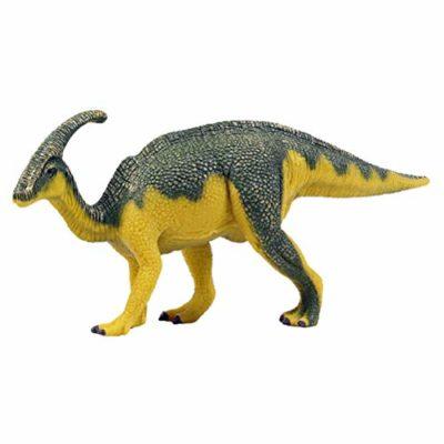 Flormoon Dinosauri Giocattoli Realistico Parasaurolophus Dinosaur Figure Di Dinosauri In Plastica Decorazioni Per Torte Feste Di Compleanno Giocattolo Per Scuola Sul Per Bambiniciano Blu E Giallo 0