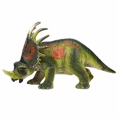 Flormoon Dinosauri Giocattoli Realistico Styracosaurus Dinosaur Figure Di Dinosauri In Plastica Decorazioni Per Torte Feste Di Compleanno Giocattolo Per La Scuola Sul Retro Per Bambiniverde 0