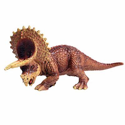 Flormoon Dinosauri Giocattoli Realistico Triceratops Dinosaur Figure Di Dinosauri In Plastica Decorazioni Per Torte Feste Di Compleanno Giocattolo Per La Scuola Sul Retro Per Bambinitaglia Piccola 0