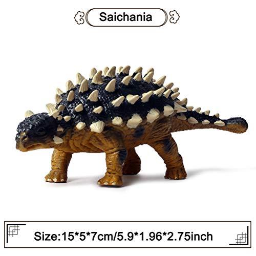 Flormoon Dinosauri Giocattoli Realistico Saichania Chulsanensis Dinosaur Figure Di Dinosauri In Plastica Decorazioni Per Torte Feste Di Compleanno Giocattolo Per Scuola Sul Per Bambiniclassico 0 1