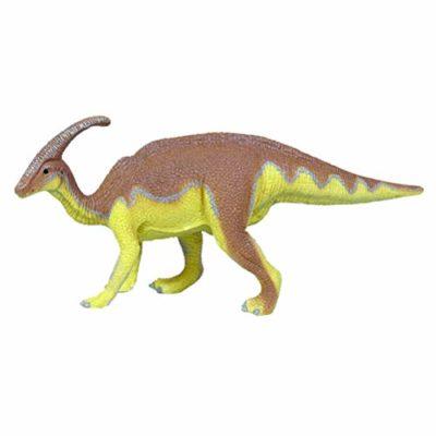 Flormoon Dinosauri Giocattoli Realistico Parasaurolophus Dinosaur Figure Di Dinosauri In Plastica Decorazioni Per Torte Feste Di Compleanno Giocattolo Per La Scuola Sul Retro Bambinigiallo E Marrone 0