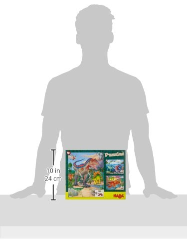 Haba 303377 Puzzle Dinosauro Gioco 0 3