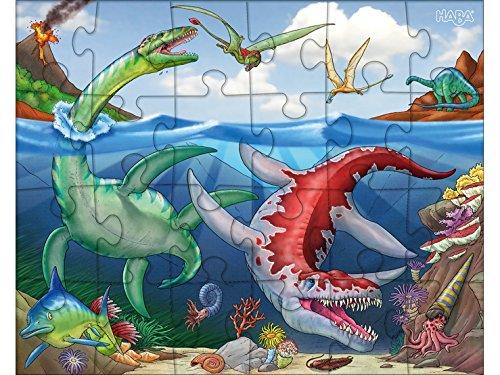 Haba 303377 Puzzle Dinosauro Gioco 0
