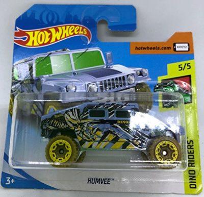 Hot Wheels 2018 Humvee 55 Dino Riders 250365 Short Card 0